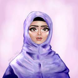 Hijab Khimar Girl