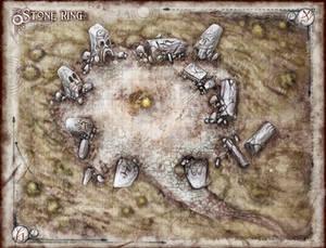 The Stone Ring Battlemap