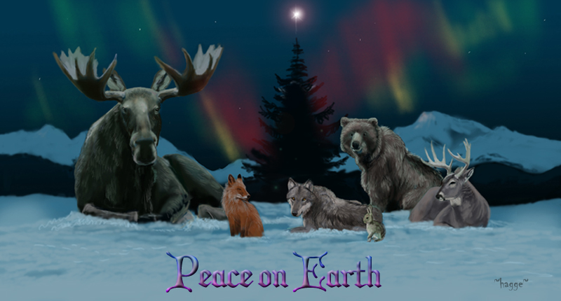 Peace on Earth by Hagge