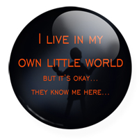 little world button by Hagge