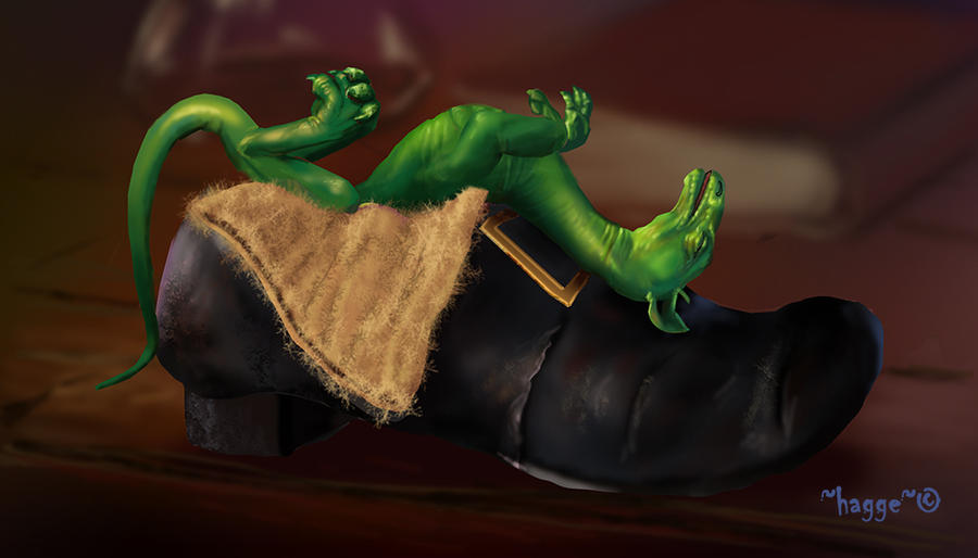 Let sleeping dragons lie by Hagge