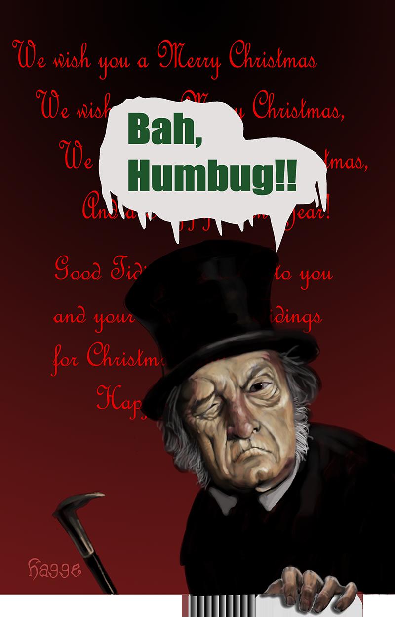 Bah humbug by Hagge