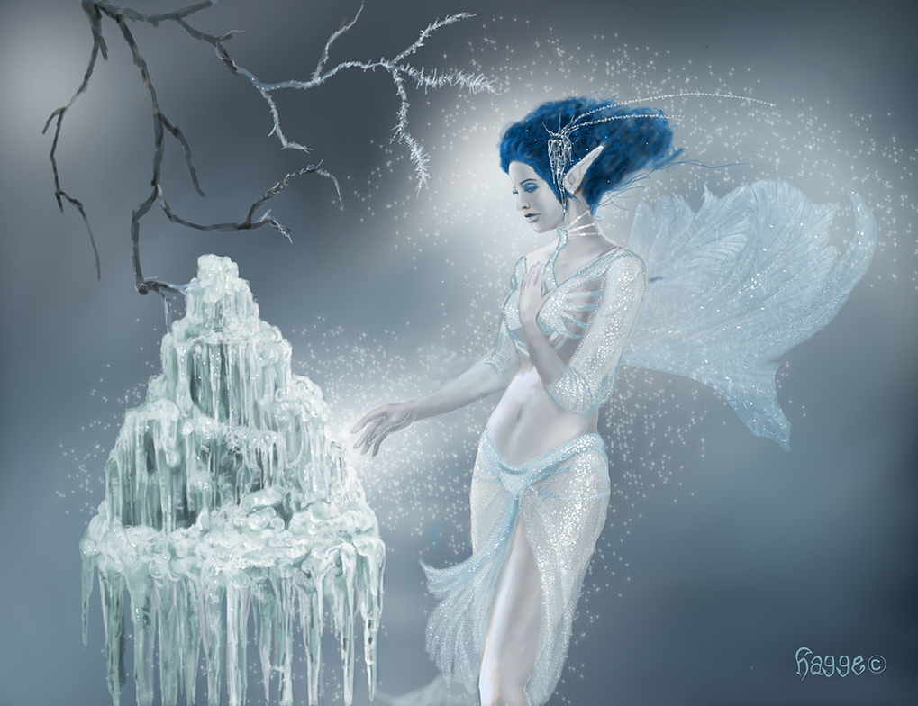 Lady Winter by Hagge