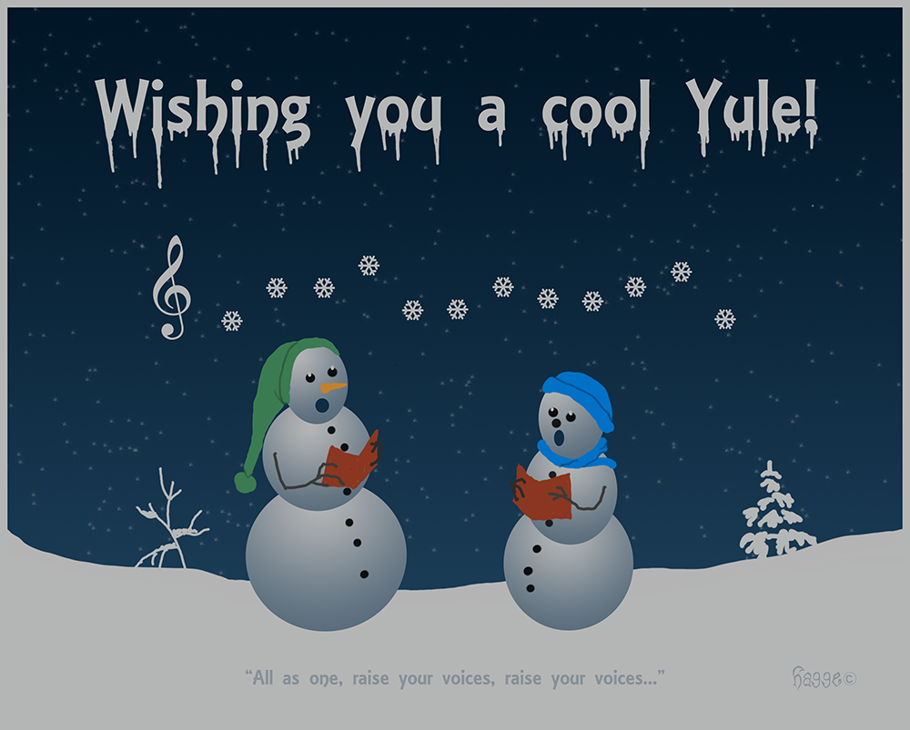 A cool Yule by Hagge