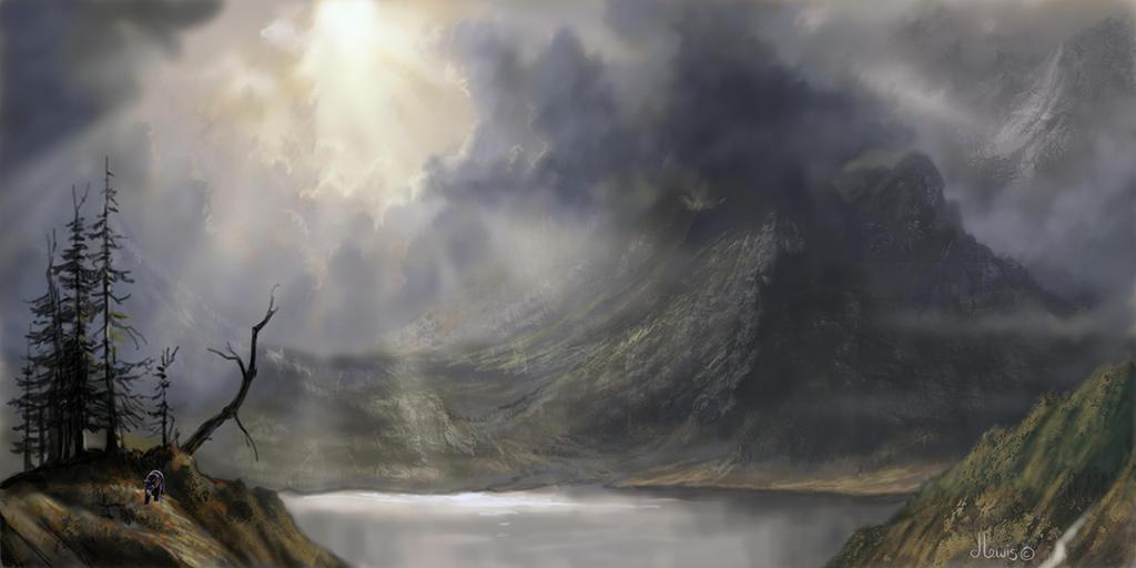 Ala Bierstadt by Hagge