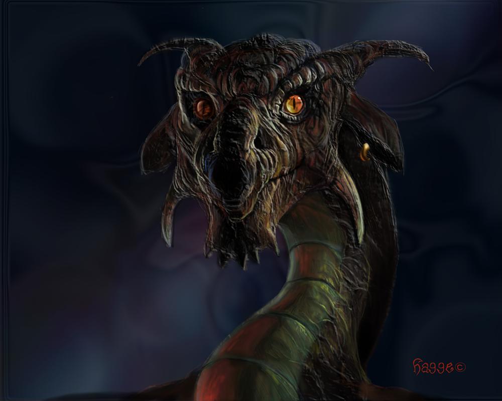 dragon I by Hagge