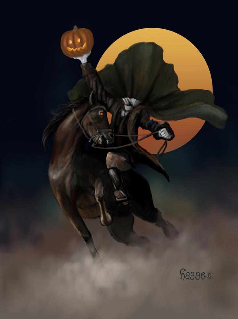 Headless Horseman by Hagge