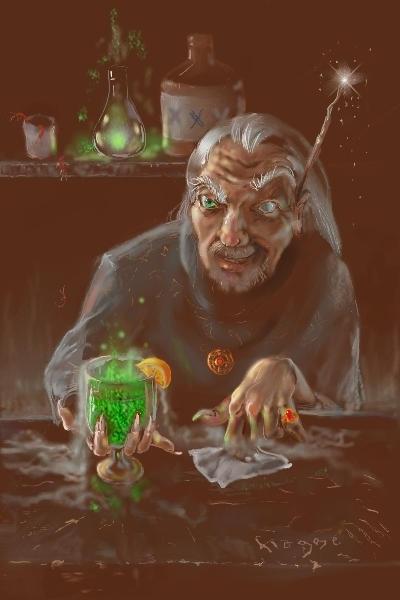 bartender-warlock by Hagge