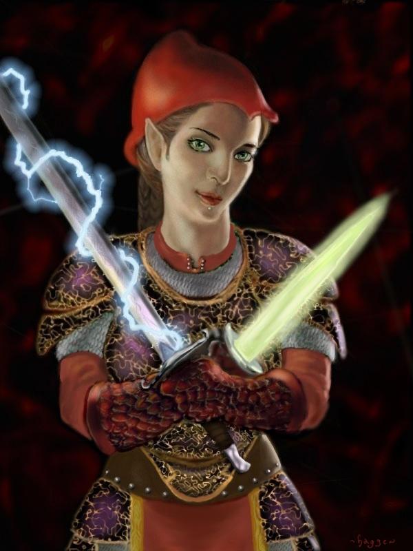 Lady Akyashaa by Hagge