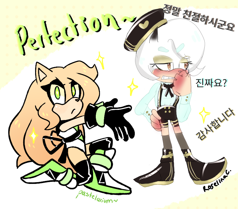 Perfection Collab by RoselinaChan