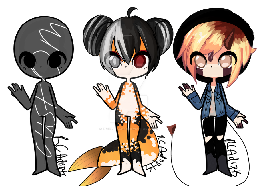 ( CLOSED Auction) Random Adoptable Batch by RoselinaChan
