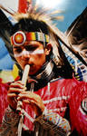 Indian Flute Player