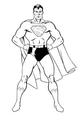 Golden Age Superman Inked 1495937