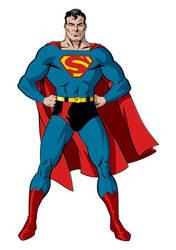Golden Age Superman Final by trisaber