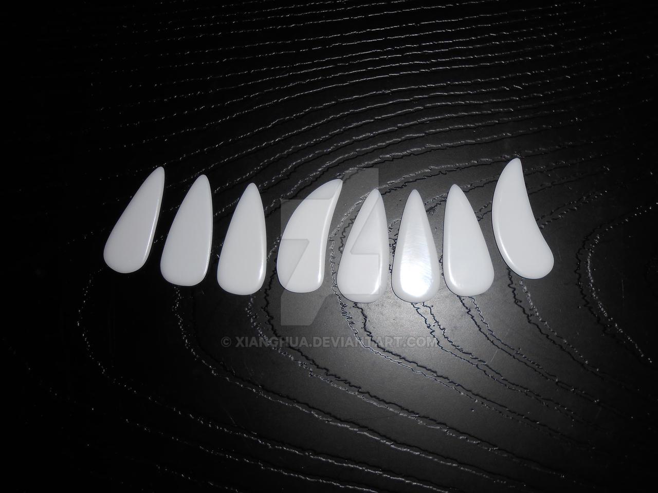 Polystyrene Guzheng Nails with rounded edges