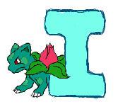 I for Ivysaur Colour