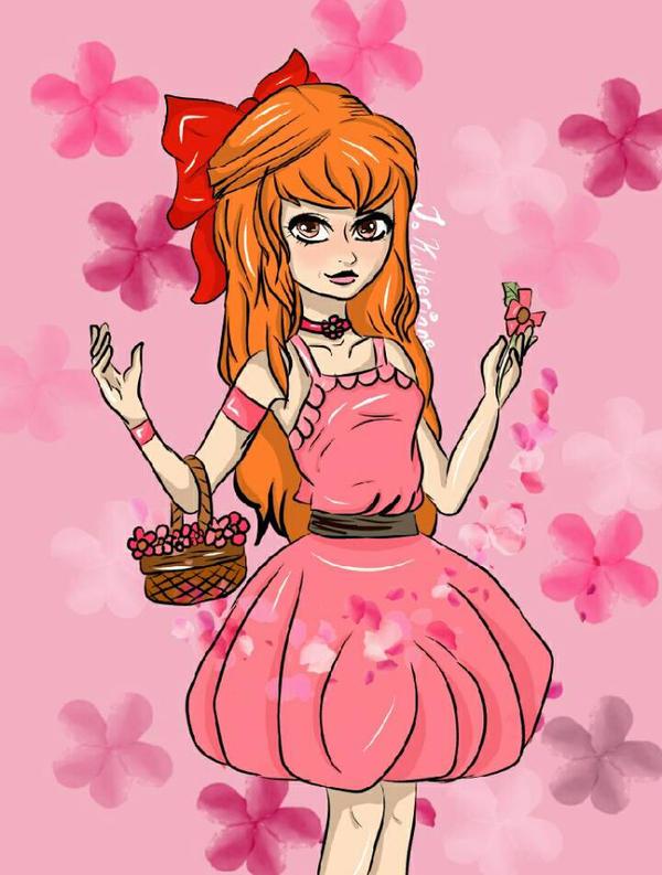 powerpuff girls Blossom  by CuddleKittyy