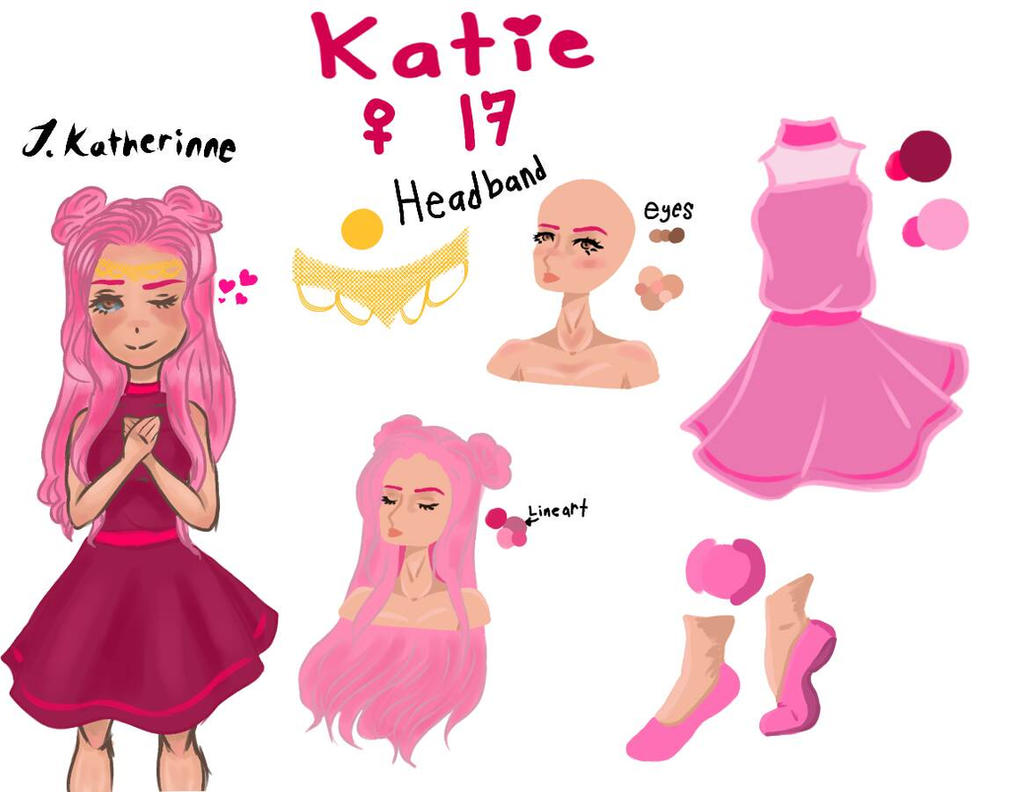 new oc Katie  by CuddleKittyy