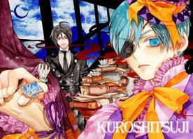 Kuroshitsuji _ Sebastian, Ciel by Gratchiyo