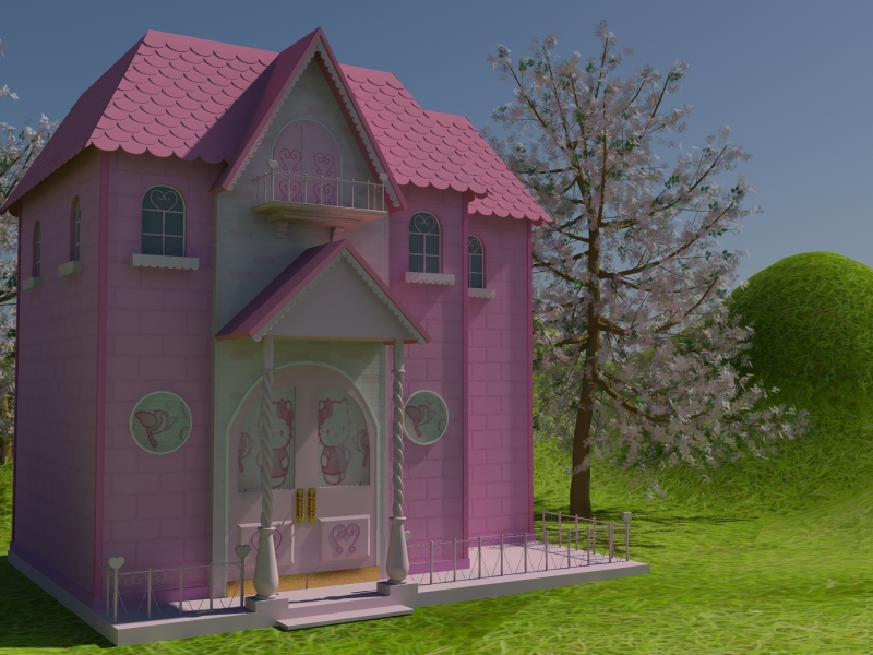 Hello Kitty S House By Yuzixd On Deviantart Interiors Inside Ideas Interiors design about Everything [magnanprojects.com]