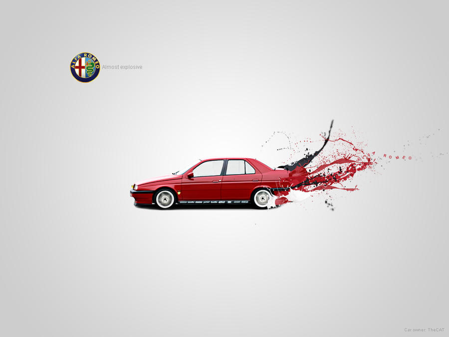 Alfa romeo logo wallpaper 11