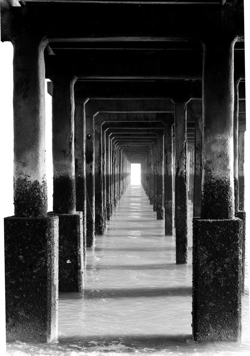 Through the Pier