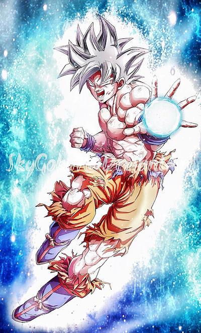 Mastered ultra instinct goku by skygoku7 on deviantart - Goku ultra instinct mastered wallpaper ...
