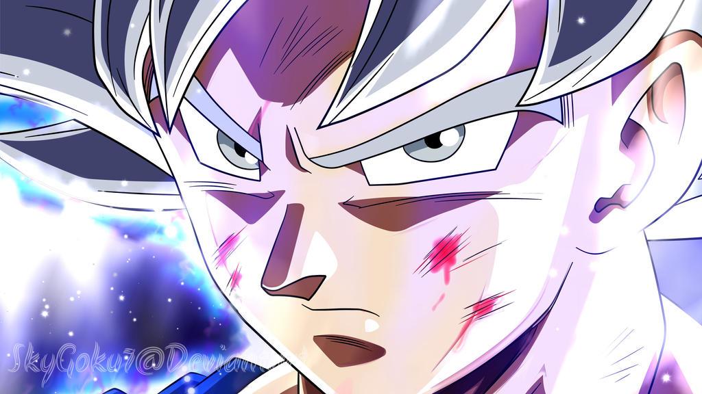 Goku mastered ultra instinct by skygoku7 on deviantart - Goku ultra instinct mastered wallpaper ...