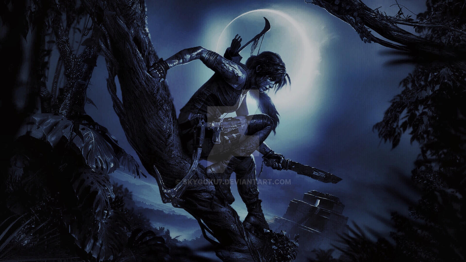 Shadow Of The Tomb Raider Wallpaper Edit By Skygoku7 On Deviantart