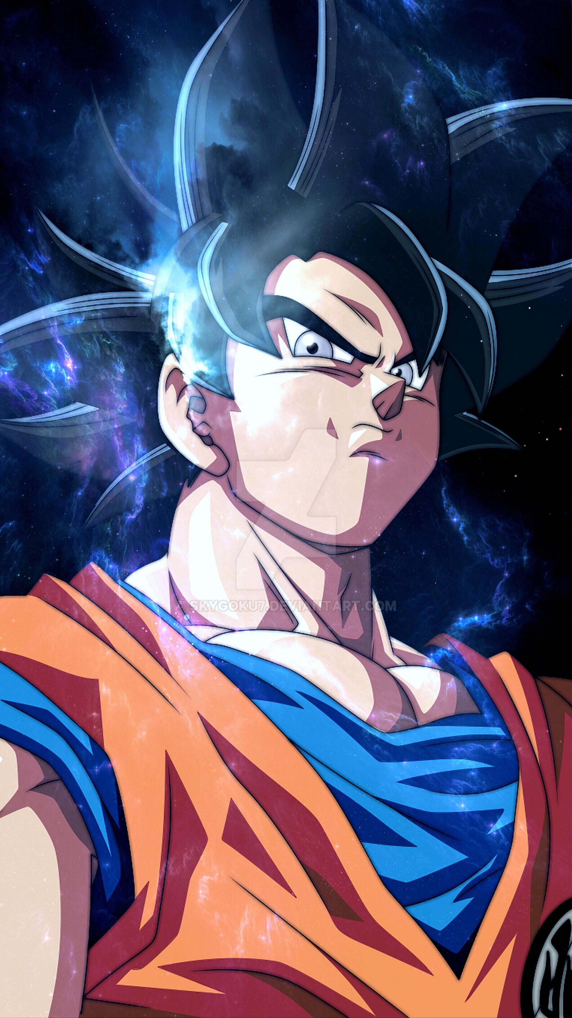 Goku Ultra Instinct Wallpaper Edit By Skygoku7 On Deviantart