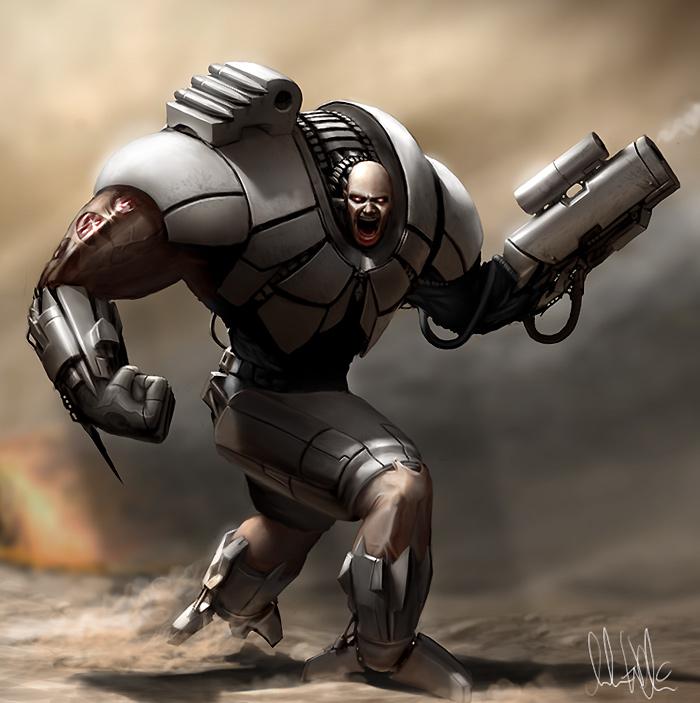 Cyborg by AndreeWallin