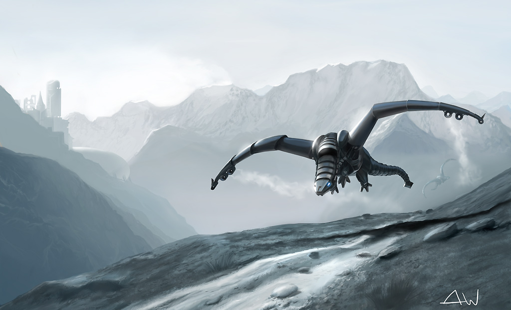 Metal dragon by AndreeWallin