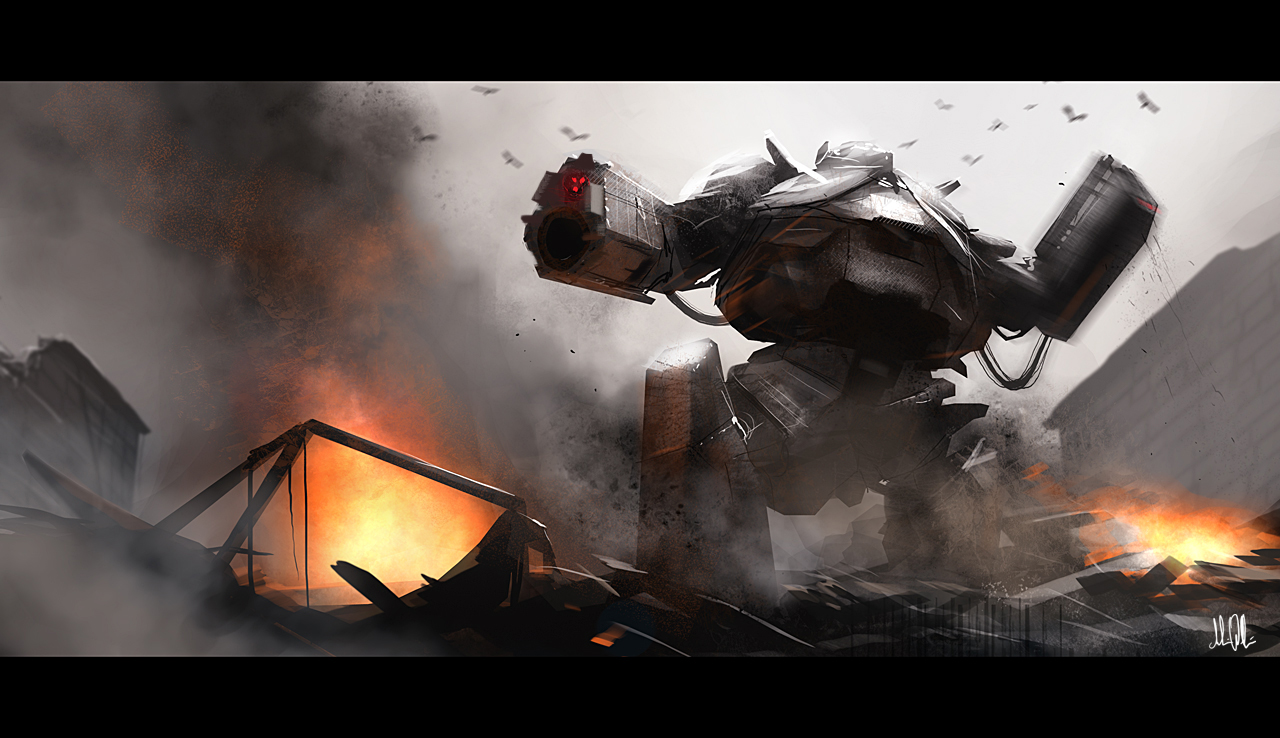 Mecha forward by AndreeWallin