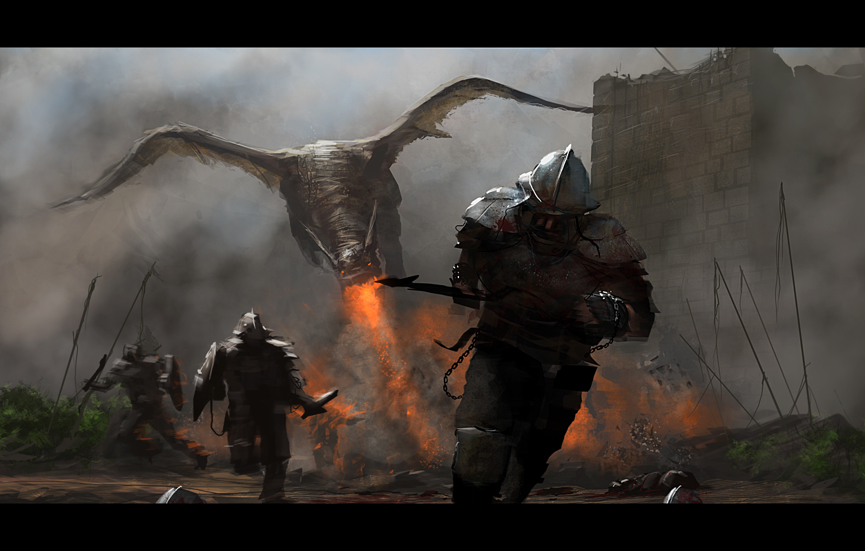 20 Awesome Dragon Wallpapers - CreativeFan