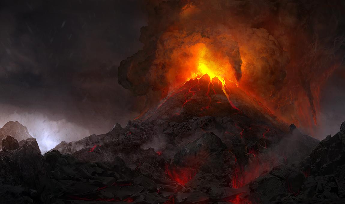 Volcano by AndreeWallin