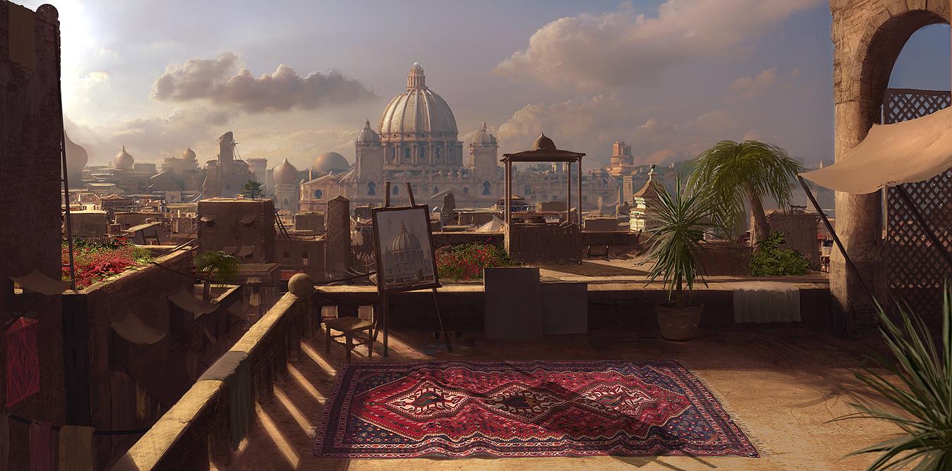Arab penthouse