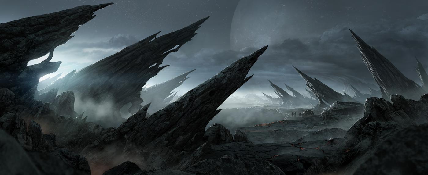 Alien landscape by AndreeWallin