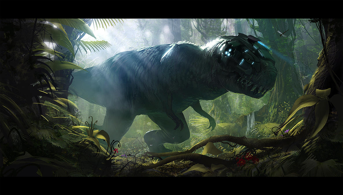 Enhanced t rex by AndreeWallin