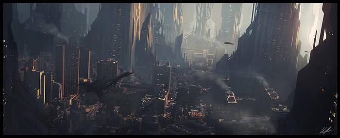 Scifi city speed 2