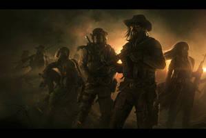 Wasteland 2 | Desert Rangers by AndreeWallin