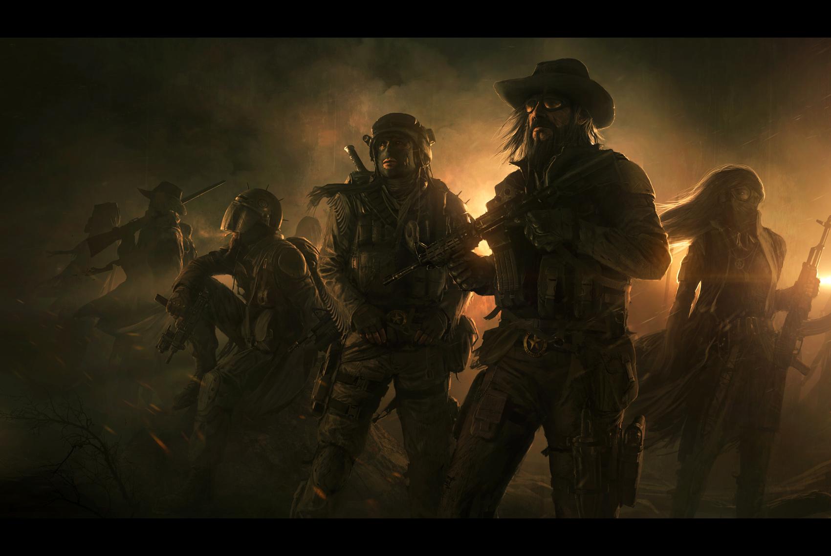 Wasteland 2   Desert Rangers by AndreeWallin