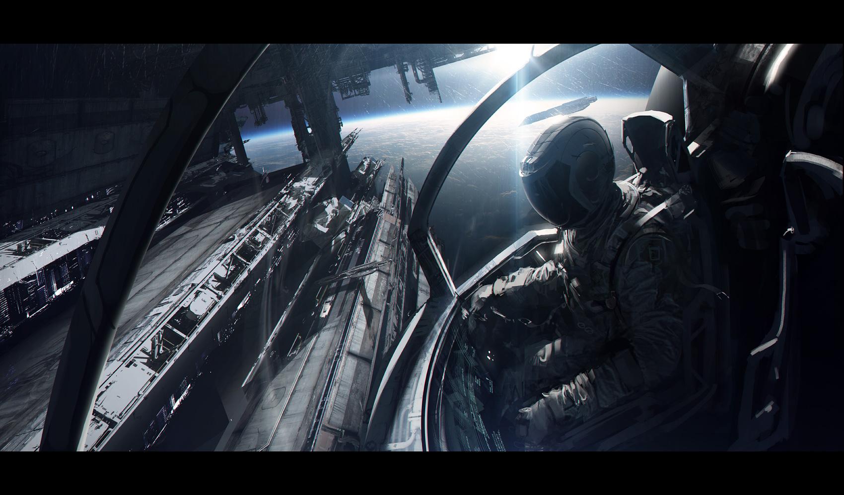Spaceship by AndreeWallin