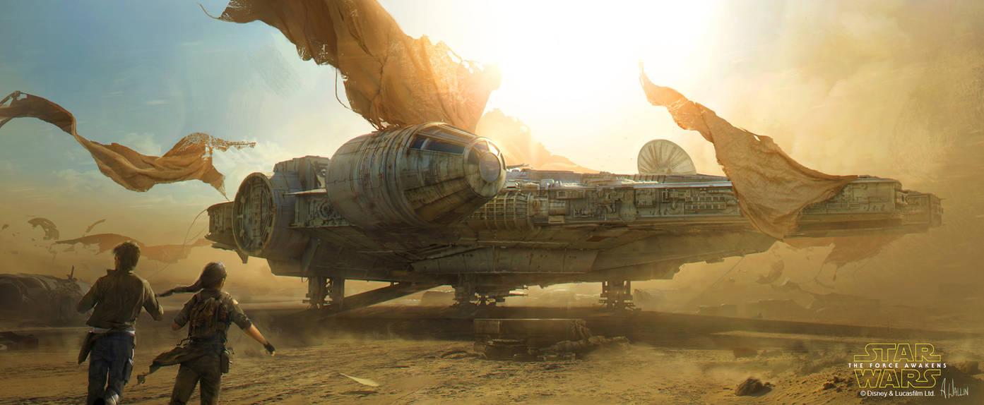 Star Wars: The Force Awakens - Millennium Falcon