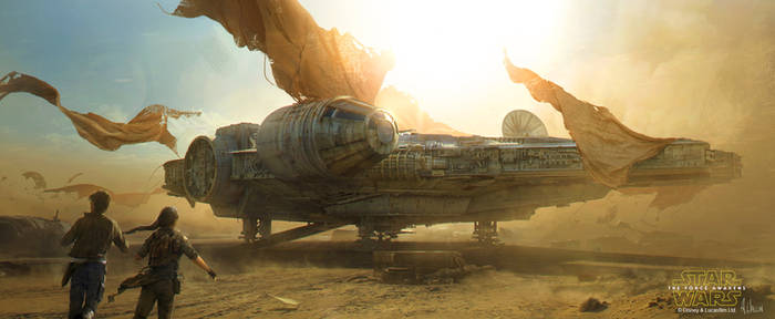 Star Wars: The Force Awakens - Millennium Falcon