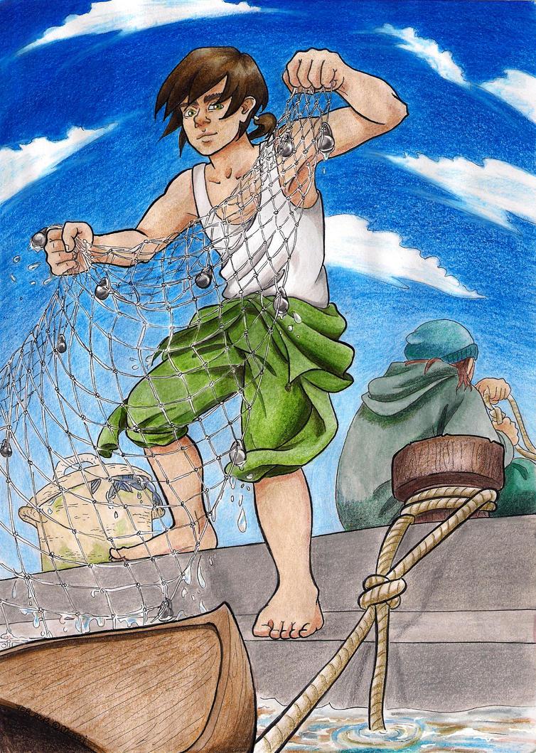 Sabi the Fisher by merzi93