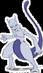 Mewtwo Skeleton without Skeleton