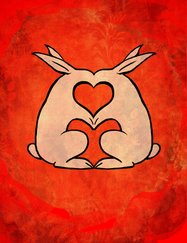 My Bunny Valentine By Hippie Girl ...