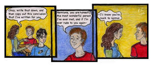 Scene from Harry Potter by hippie-girl