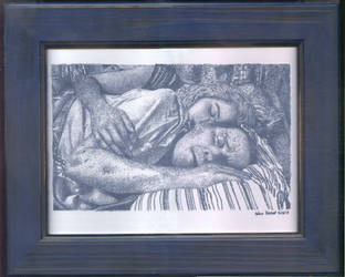 Jessica, Fathers Day - Framed Painting by Narumitsumi