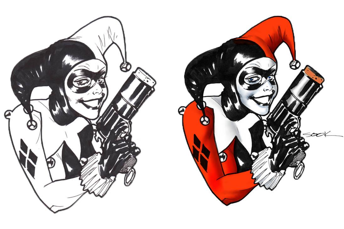 Harley Quinn, Ryan Sook by Narumitsumi